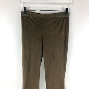 BB Dakota Pants - NEW! BB Dakota • Vegan Suede Leggings Bark